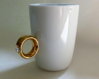 Engagement Ring Mug