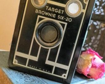 On SALE Vintage 1940s Retro Kodak Target Brownie Six-20 Camera