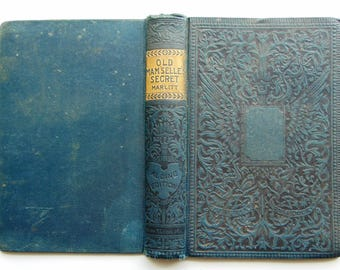 1890's Antique Blue  Book Covers