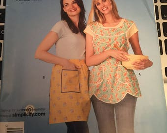 Simplicity 3670 It's So Easy Apron Pattern OS Uncut