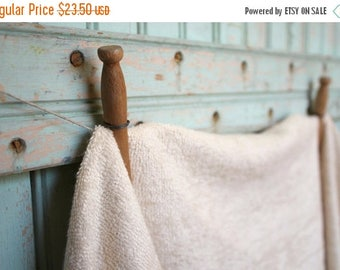 SALE Today Organic Terry Cloth Fabric By the Yard Terrycloth Knit Towel Fabric Made in the US & Certified GOTS Organic - Eco Friendly Fabric