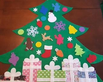 Felt christmas tree | Etsy