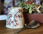 Mug Chery Blossom and Birds Coffe Mug Cup