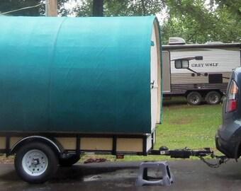 DIY VERSION Gypsy Wagon Vardo Camper Caravan Glamper Tiny House Popup Shop Photo Booth BNB Rental