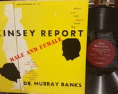 Dr. Murray Banks Spoken Word Vinyl LP Record What You Can Learn From The Kinsey Report Male Female Sex