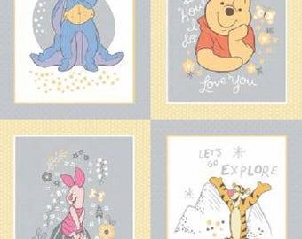 Multi Winnie the Pooh,  Multi-Character Panel