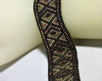 Peyote Bracelet Pattern P1003