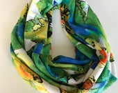 Turning tides infinity scarf