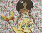 Mermaid Paper Doll 135 - Zendaya in Dolce & Gabbana