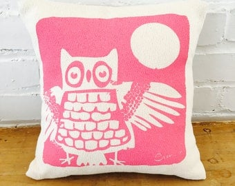 Mr Who 10in Kiddo Pillows in Pink - READY TO SHIP