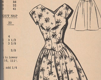 New Style (The News) Mail Order Pattern 2368 Dress