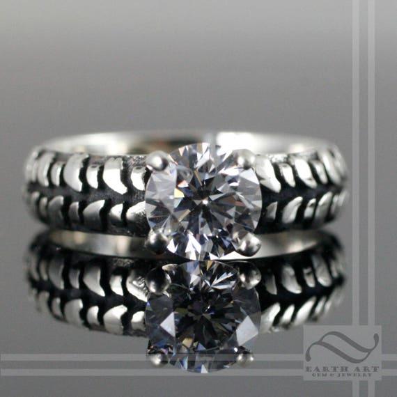 like this item - Mud Tire Wedding Rings