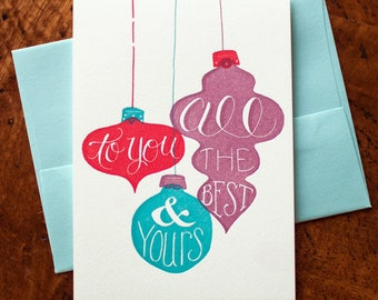 All the Best to You and Yours  - Card