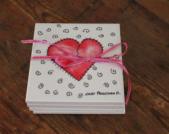 Be My Valentine I Love You Heart Trivet