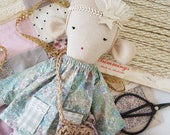 Heirloom Cloth Doll - Hazel