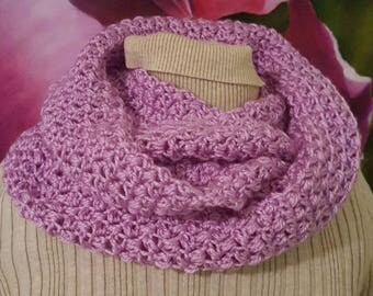 Infinity Scarf Lilac Adult