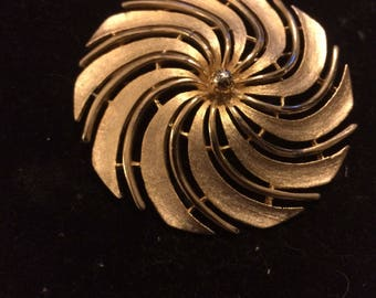 Goldtone  Brooch by Sarah Coventry