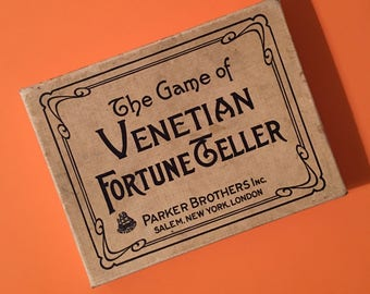 Sale Rare Vintage Fortune Game