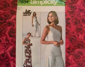 70's Simplicity Sewing Pattern