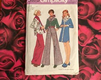 70's Vintage Simplicity Pattern # 5975 Size 8