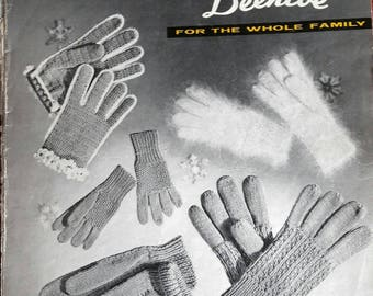 Gloves and Mitts by Beehive No. 80 knitting crochet patterns