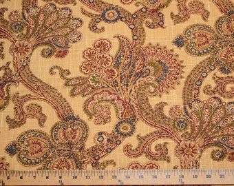 Waverly Paisley Fabric Hidden Treasure Gem