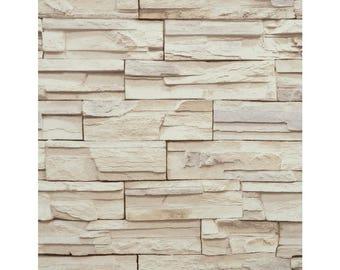RN1039 Wallpaper  Travertine Faux Stone