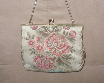 Vintagee Tapestry Evening Purse
