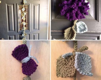 Mum Garland - Knitting PATTERN - Great for the Beginner
