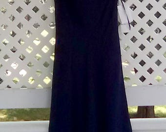 Blue Formal Dress Size 6 Evening Gown Blue Sleeveless Gown Formal Gown Evan Picone Gown Women's Long Dresses