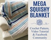 Chunky Blanket Crochet Pa...