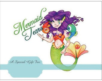 100 Dollar Gift Certificate for Mermaid Tears - Physical Gift Card to be Mailed