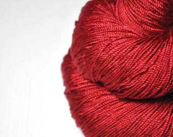 Blood queen - Cordonnette Silk Fingering Yarn