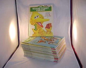 The Sesame Street Library With Jim Henson's Muppets 14 Volumes