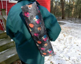 Geometric Fabric Yoga Mat Bag