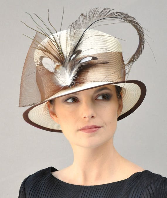 Kentucky Derby Hat, Derby Hat, Ascot Hat, Occasion Hat, Formal hat, Downton Abbey hat