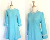 Vintage Mod  Dress - 60s ...