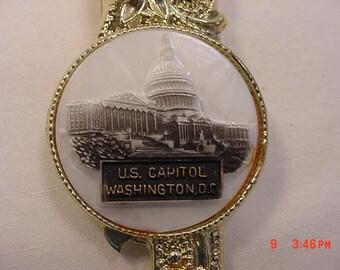 Vintage U.S. Capitol Washington D.C. Can & Bottle Opener  18 - 79