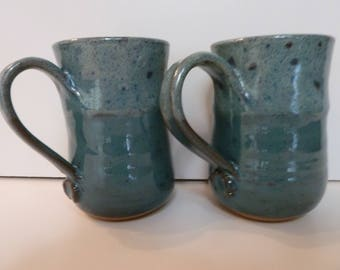 Mugs ,Pottery, Stoneware,Wheelthrown.