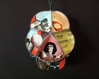 Rocky Horror Picture Show Album Cover Ornament Made Of Record Jackets