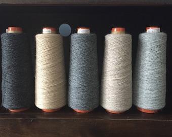 Saori yarn wool cone lot:  camel and alpaca!