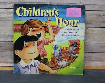 1971 Children's Hour Vinyl Record, LP