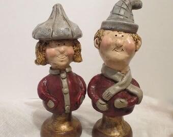 1969 Huguette Winter Figurines