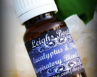 Eucalyptus and Thyme Earths Healer & Balancing Essential Blend 1/2 oz.