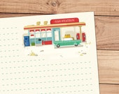 Pit Stop - A5 Stationery - 12, 24 or 48 sheets