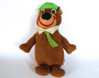 Vintage 1970's Hanna Barbera Yogi Bear Plush Doll!