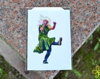 Euterpe Mini Print - Pocket Goddess