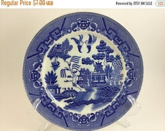 Sale Vintage China Blue Willow Dinner Plate Made in Japan