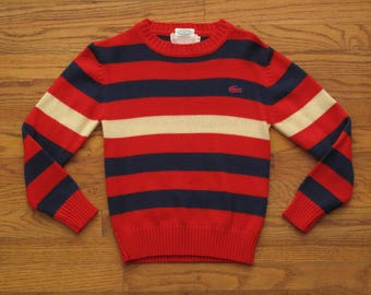 vintage Lacoste striped sweater
