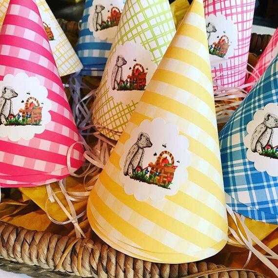 Teddy Bear Picnic Party Hats